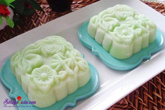 Công thức mới cho món bánh dẻo lá dứa nhân đậu xanh ngon tuyệt