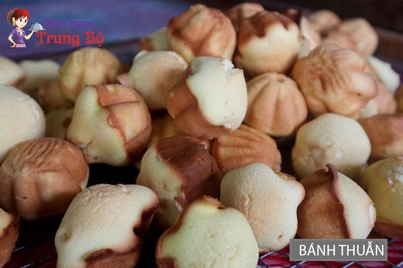 Bánh thuẫn đặc trưng của Nam Trung Bộ