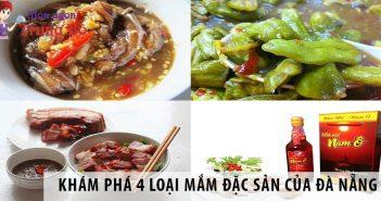 Khám phá 4 loại mắm đặc sản của Đà Nẵng
