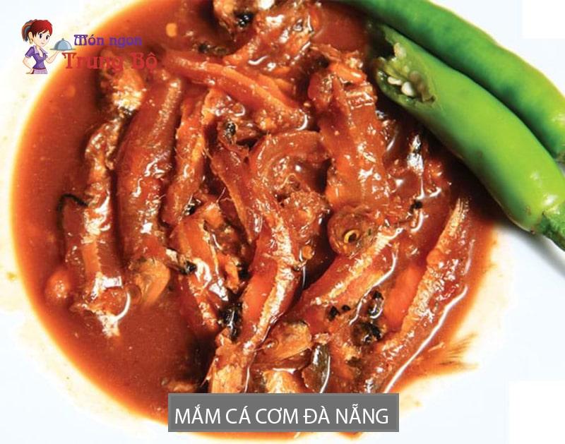 Mắm cá cơm Đà Nẵng có thể dùng để làm nước chấm.