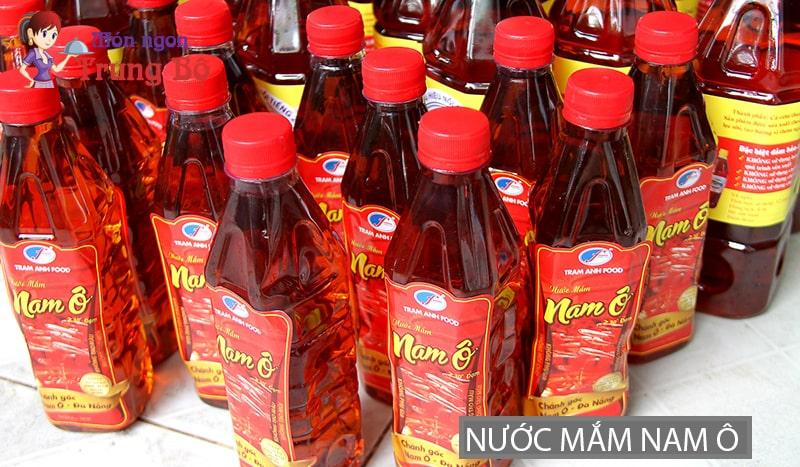 Nước mắm Nam Ô là thương hiệu nước mắm nổi tiếng Đà Nẵng