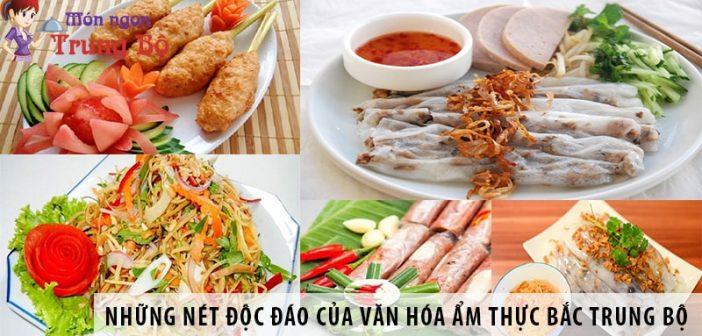 Những nét độc đáo của văn hóa ẩm thực Bắc Trung Bộ 1
