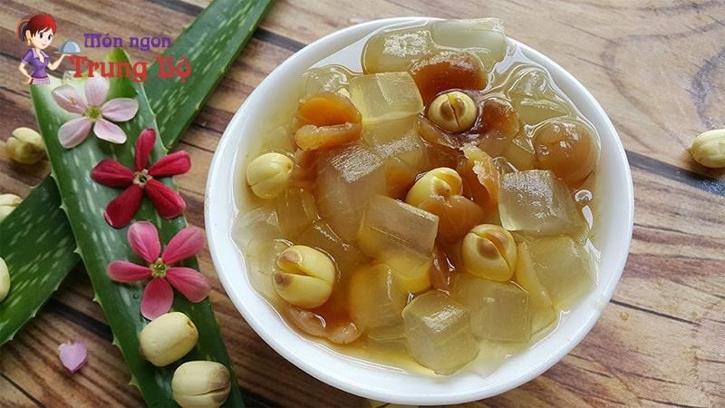 Chè hạt sen được coi là một trong những món chè thanh tao nhất