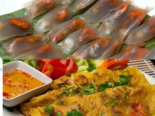 Cách làm bánh bột lọc Quảng Bình và bánh xèo Quảng Bình 2
