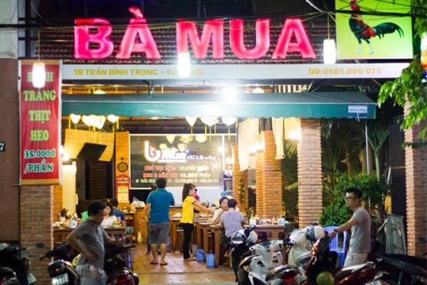 Tổng hợp các quán bánh tráng cuốn thịt heo đông khách nhất ở  Đà Nẵng 4