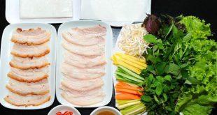 Tổng hợp các quán bánh tráng cuốn thịt heo đông khách nhất ở Đà Nẵng