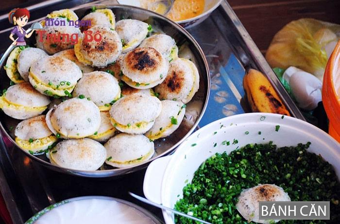 Bánh căn đặc sản miền Trung