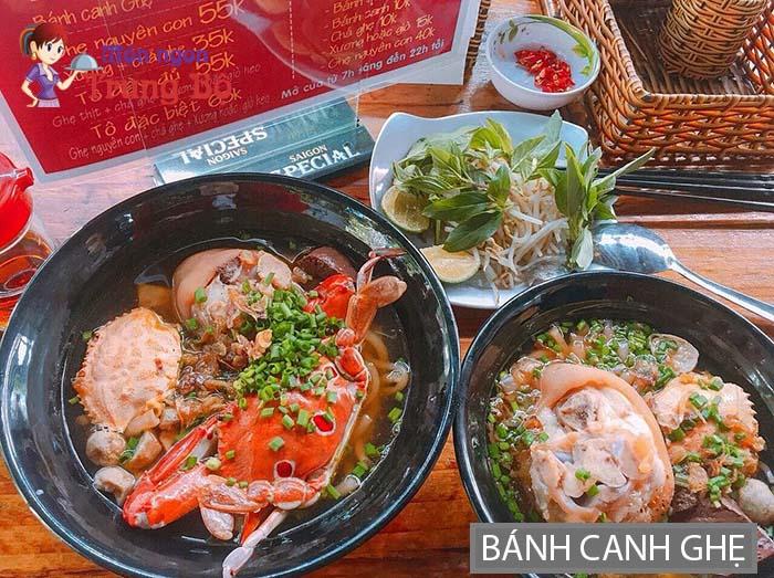 Bánh canh ghẹ khá nổi tiếng ở Hà Nội