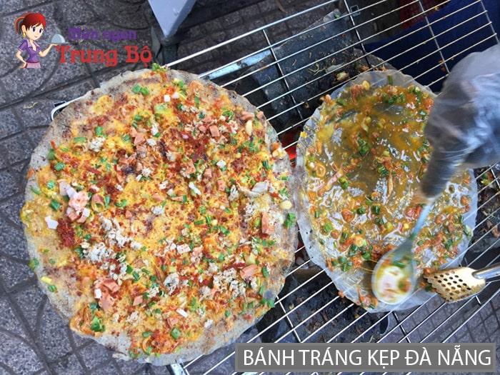 Bánh tráng kẹp đặc sản miền Trung