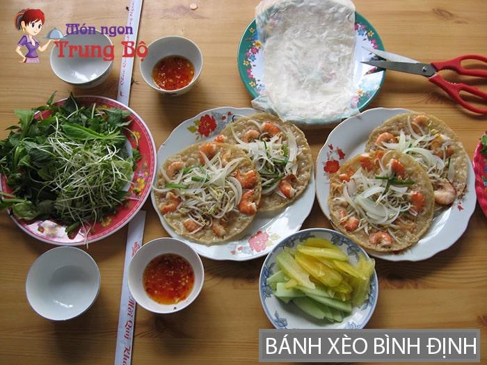 Bánh xèo Mỹ Cang Bình Định