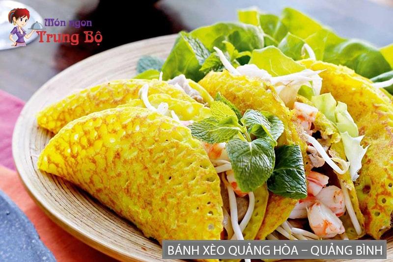 Bánh xèo Quảng Hòa – Quảng Bình