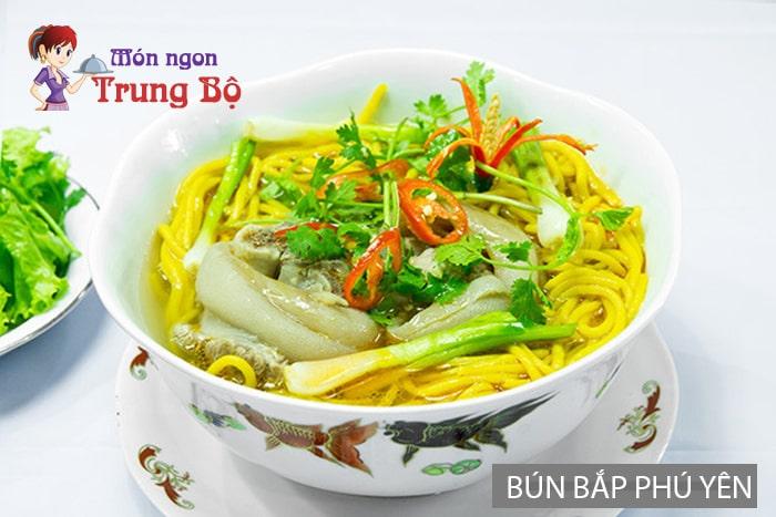 Đặc sản bún bắp Phú Yên
