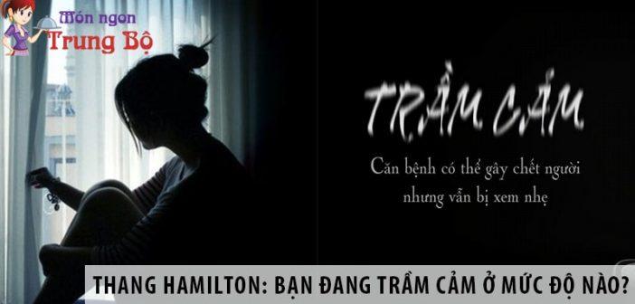 Thang Hamilton: Bạn đang trầm cảm ở mức độ nào