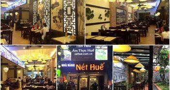 7 quán ăn đặc sản Huế nổi tiếng ở Hà Nội