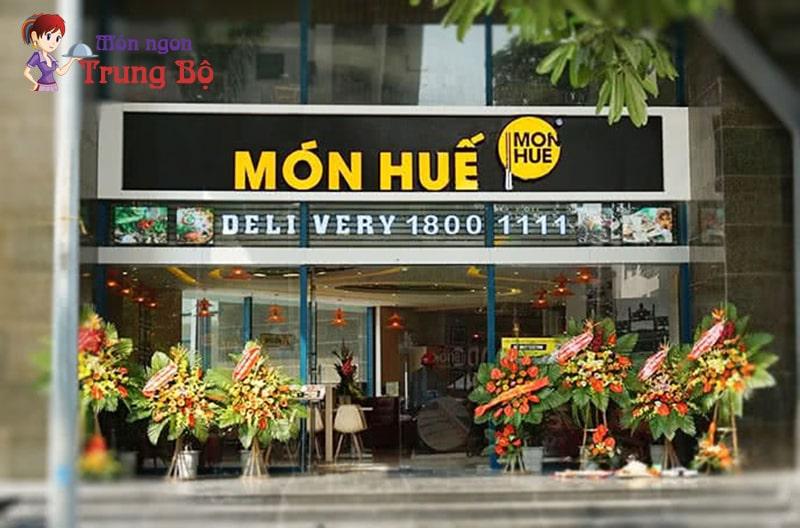Nhà hàng món Huế – phố Huế