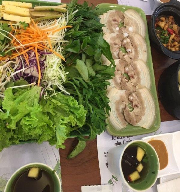 quán bánh tráng cuốn thịt heo ngon ở Hà Nội 4