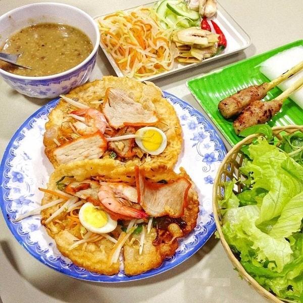 Bánh khoái Quảng Trị thơm ngon - ăn một lần nhớ mãi không quên