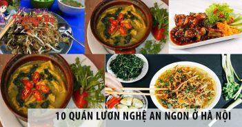 10 quán lươn Nghệ An ngon ở Hà Nội nhất định phải thử