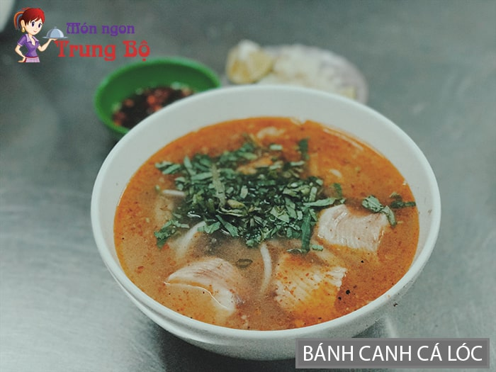 Bánh canh cá lóc đặc sản Quảng Trị