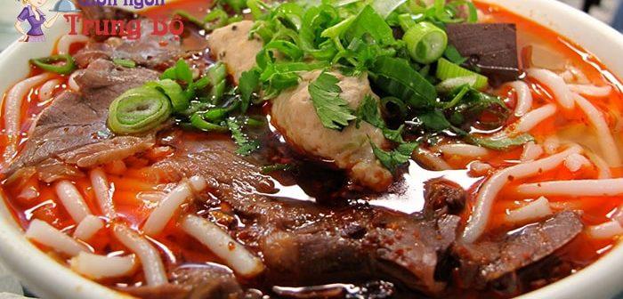 Những món ăn đặc sản nổi tiếng của miền Trung