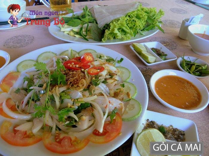 Gỏi cá mai đặc sản Phan Thiết