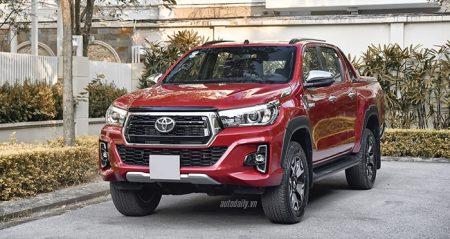Toyota Hilux được thiết kế khá khỏe khoắn