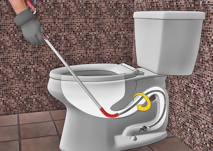 Dụng cụ thông tắc nhà vệ sinh cầm tay