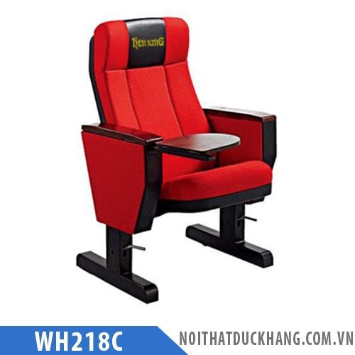 Ghế hội trường WH218C chân thép sơn tĩnh điện