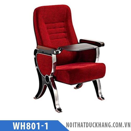 Ghế hội trường WH801-1 chân gang đúc
