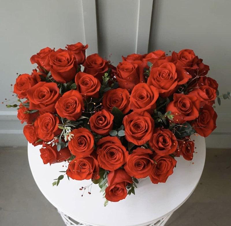 Hoa hồng là loại hoa tượng trưng cho tình yêu