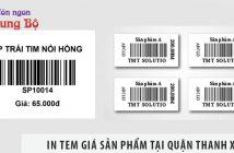 Địa chỉ in tem giá sản phẩm tại Quận Long Biên nhanh, giá rẻ